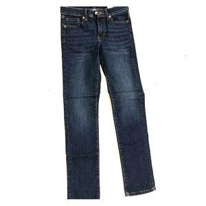 Dark Wash slim straight jeans